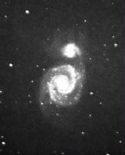 M - 51 The Whirlpool Galaxy