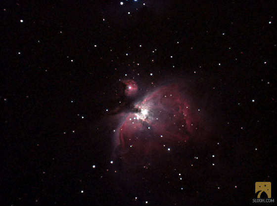 M 42 and M 43 - Orion Nebula
