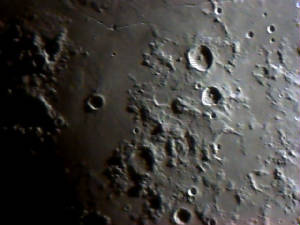 Moon and Craters